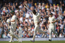 Jofra Archer celebrates the wicket of Marcus Harris, England v Australia, 5th Test, The Oval, September 13, 2019