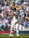 Ben Stokes acknowledges his fifty, England v Australia, 5th Test, The Oval, September 14, 2019