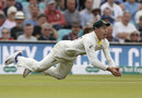 Marnus Labuschagne took an outstanding catch diving forward, England v Australia, 5th Test, The Oval, September 14, 2019