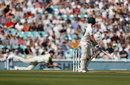 Steven Smith flicks to Ben Stokes at leg gully to fall for 23, England v Australia, 5th Test, The Oval, September 15, 2019