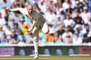 Jack Leach searches for a breakthrough, England v Australia, 5th Test, The Oval, September 15, 2019