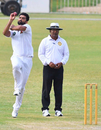 Sohail Khan loads up, Sindh, a pep talk, Sindh v Balochistan, 2nd day, Quaid-e-Azam Trophy 2019-20, Karachi, September 15, 2019