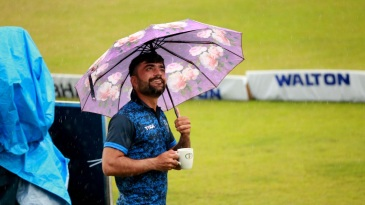 No crying in the rain for Rashid Khan