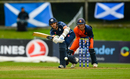 Kyle Coetzer works the ball into the on side, Netherlands v Scotland, Ireland Tri-Nation T20I Series, Dublin, September 16, 2019