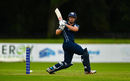 George Munsey whips one square on the leg side, Netherlands v Scotland, Ireland Tri-Nation T20I Series, Dublin, September 16, 2019