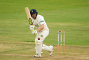 Liam Dawson turns the ball into the on side, Hampshire v Somerset, County Championship, Division One, Ageas Bowl, September 16, 2019