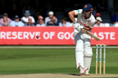 Alastair Cook lines the ball up, Essex v Surrey, County Championship, Division One, Chelmsford, September 17, 2019