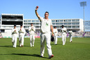 Kyle Abbott walks off after taking nine wickets, Hampshire v Somerset, County Championship, Division One, Ageas Bowl, September 17, 2019