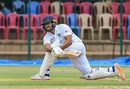 Karun Nair plays a sweep, India A v South Africa A, 2nd unofficial Test, Mysore, 1st day,  September 17, 2019