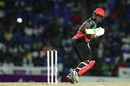 Carlos Brathwaite steers one fine behind the stumps , St Kitts and Nevis Patriots v Trinbago Knight Riders, CPL 2019, Basseterre, September 17, 2019