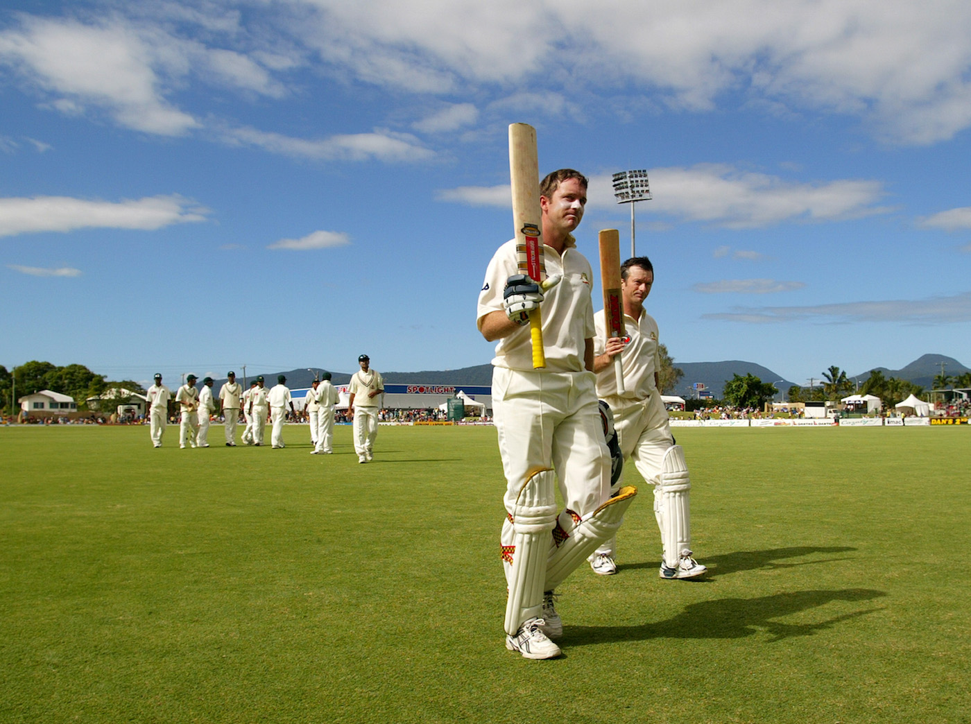 All's fair with Love and Waugh at the crease