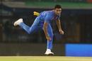 Deepak Chahar in action, India v South Africa, 2nd T20I, Mohali, September 18, 2019