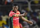 Keemo Paul celebrates a wicket, Jamaica Tallawahs v Guyana Amazon Warriors, CPL 2019, Kingston, September 18, 2019