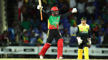 Fabian Allen's big-hitting at the death rescued St Kitts and Nevis Patriots