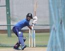 Washington Sundar bats in the nets, Bengaluru, September 20, 2019