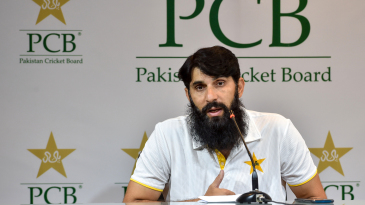 Misbah-ul-Haq dons the hat of chief selector while announcing the Pakistan ODI squad