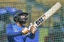 Ravindra Jadeja bats in the nets, Bengaluru, September 21, 2019