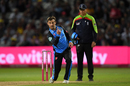 Daryl Mitchell claims a breakthrough, Worcestershire v Essex, Vitality Blast final, Edgbaston, September 21, 2019