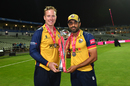 Simon Harmer and Ravi Bopara with the Blast trophy, Worcestershire v Essex, Vitality Blast final, Edgbaston, September 21, 2019