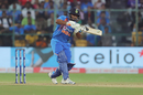 Rishabh Pant shapes to play the pull, India v South Africa, 3rd T20I, Bengaluru, September 22, 2019