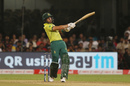 Reeza Hendricks pulls one away, India v South Africa, 3rd T20I, Bengaluru, September 22, 2019