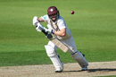 Scott Borthwick pushes into the off side, Surrey v Nottinghamshire, County Championship, Division One, The Oval, September 23, 2019