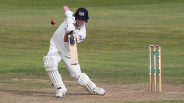 Ben Charlesworth punches into the covers