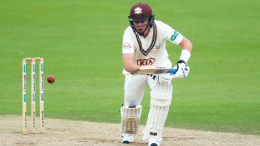 Ollie Pope of Surrey reached his century for Surrey