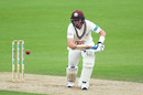 Ollie Pope of Surrey reached his century, County Championship Divsion One, Surrey v Nottinghamshire, The Oval, September 25, 2019