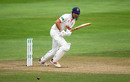Alastair Cook works one into the leg side, Somerset v Essex, County Championship, Division One, Taunton, September 26, 2019