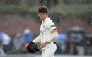 Tom Abell of Somerset walks off as play is delayed due to rain, County Championship Division One, Somerset v Essex, day four, Taunton, September 26, 2019