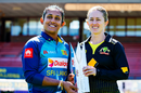 Chamari Atapattu and Rachael Haynes ahead of the T20I series, North Sydney Oval, September 28, 2019
