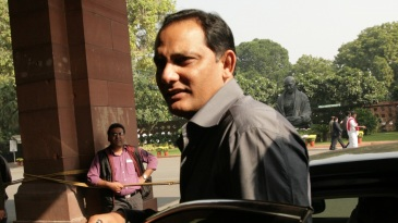 Mohammad Azharuddin was disqualified from contesting for the post of HCA president in January 2017