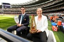 Pat Cummins, Meg Lanning and the Ashes trophies were star attractions at the AFL Grand Final, Melbourne, September 28, 2019