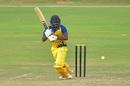 B Aparajith knocks the ball to the leg side, Bihar v Tamil Nadu, Vijay Hazare Trophy 2019-20, Jaipur, September 28, 2019