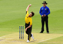 Nathan Coulter-Nile in his delivery stride, Western Australia v Tasmania, Marsh Cup, WACA, September 25, 2019