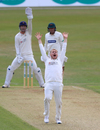 Lancashire's Matt Parkinson unsuccessfully appeals for a wicket, day one, County Championship Division Two, Leicestershire v Lancashire, The Fischer County Ground, Leicester, 23 September, 2019