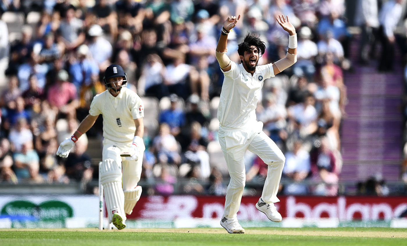 Ishant was the second most prolific wicket-taker in the England Tests last year