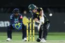 Erin Burns goes down the ground, Australia v Sri Lanka, 2nd Women's T20I, North Sydney Oval, September 30, 2019
