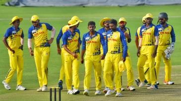 Tamil Nadu's players get together
