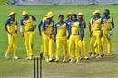 Tamil Nadu's players get together, Bengal v Tamil Nadu, Vijay Hazare Trophy 2019-20, Jaipur, October 1, 2019