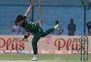 Usman Shinwari bowls, Pakistan v Sri Lanka, 3rd ODI, Karachi, October 2, 2019