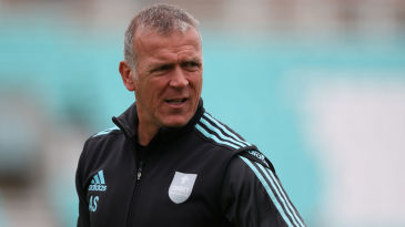 Alec Stewart was among those shortlisted for the England job