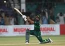 Fakhar Zaman hits one through the off side, Pakistan v Sri Lanka, 3rd ODI, Karachi, October 2, 2019