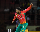 Chandrapaul Hemraj took 3 for 15, Guyana Amazon Warriors v Trinbago Knight Riders, CPL 2019, Providence, October 4, 2019
