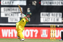 Beth Mooney drives through the off side, Australia v Sri Lanka, 1st Women's ODI, Allan Border Field, October 5, 2019