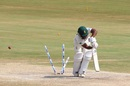 Temba Bavuma is bowled, India v South Africa, 1st Test, Visakhapatnam, 5th day, October 6, 2019