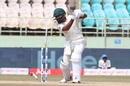 Dane Piedt is castled, India v South Africa, 1st Test, Visakhapatnam, 5th day, October 6, 2019