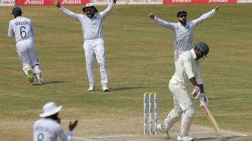 Kagiso Rabada's dismissal means India have won their first three World Test Championship matches