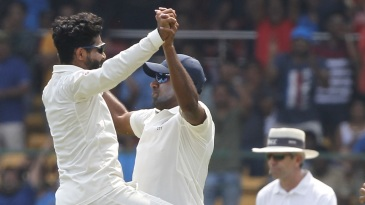 Gottim! Ravindra Jadeja and R Ashwin celebrate yet another dismissal